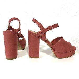 d3f6ec3ead6b BAMBOO Shoes - Bamboo Mauve Platform Block Heels